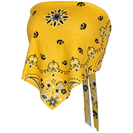 Iowa Hawkeyes Bandana Top