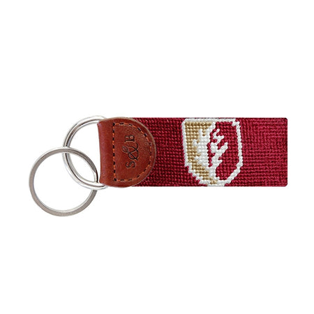 Elon Needlepoint Key Fob
