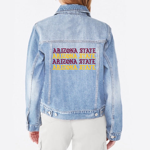 Arizona State ASU Distressed Joggers