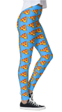 Dripping Pizza Leggings - lo + jo, LLC