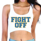 Fight Off Crop Top - lo + jo, LLC