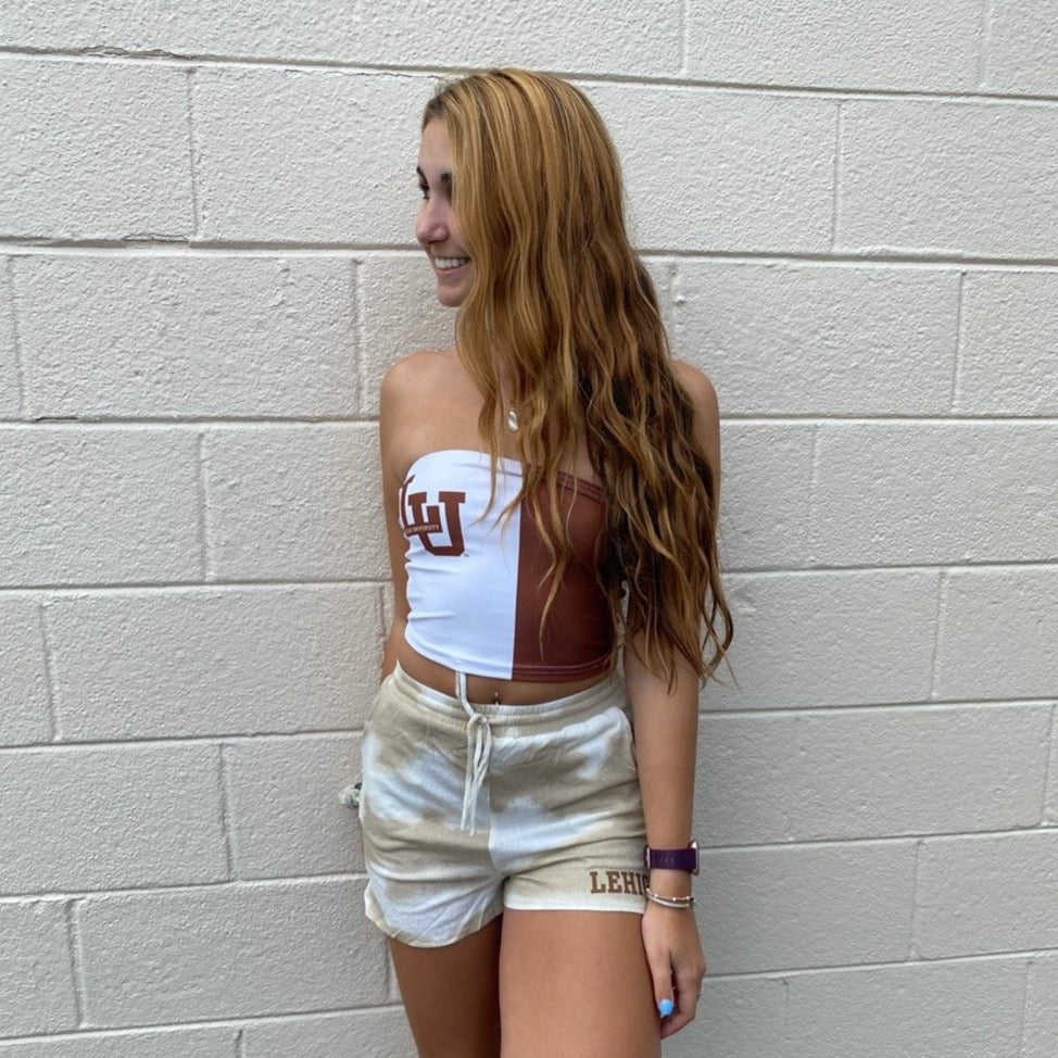 Lehigh Two Tone Tube Top