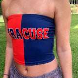 Syracuse Two Tone Tube Top