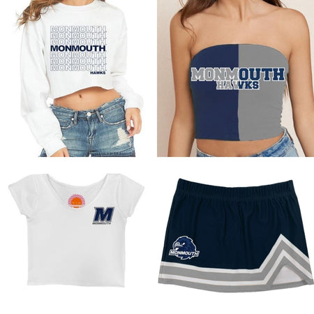 Monmouth Hawks Tailgate Top Bundle