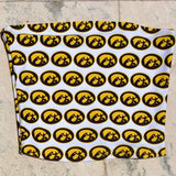 Iowa Hawkeyes All Over Tube Top
