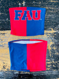 FAU Two Tone Tube Top