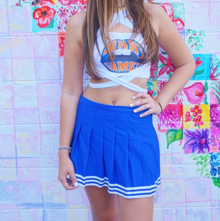 Royal Blue Tailgate Skirt