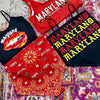 Maryland Terps Bandana Top