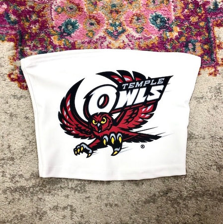 Temple Owls Tube Top