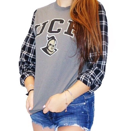 University of Central Florida Flannel Tee