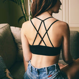 Black Caged Bandeau - lo + jo, LLC