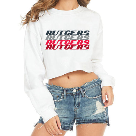 Rutgers Repeat Cropped Crewneck
