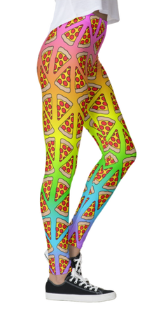 Rainbow Pizza Leggings