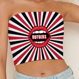 Rutgers Starburst Tube Top