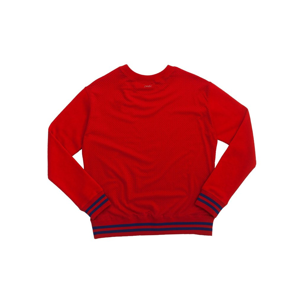 Southern Methodist University SMU Mesh Sweatshirt