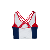 Southern Methodist University SMU Sporty Cropped Tank