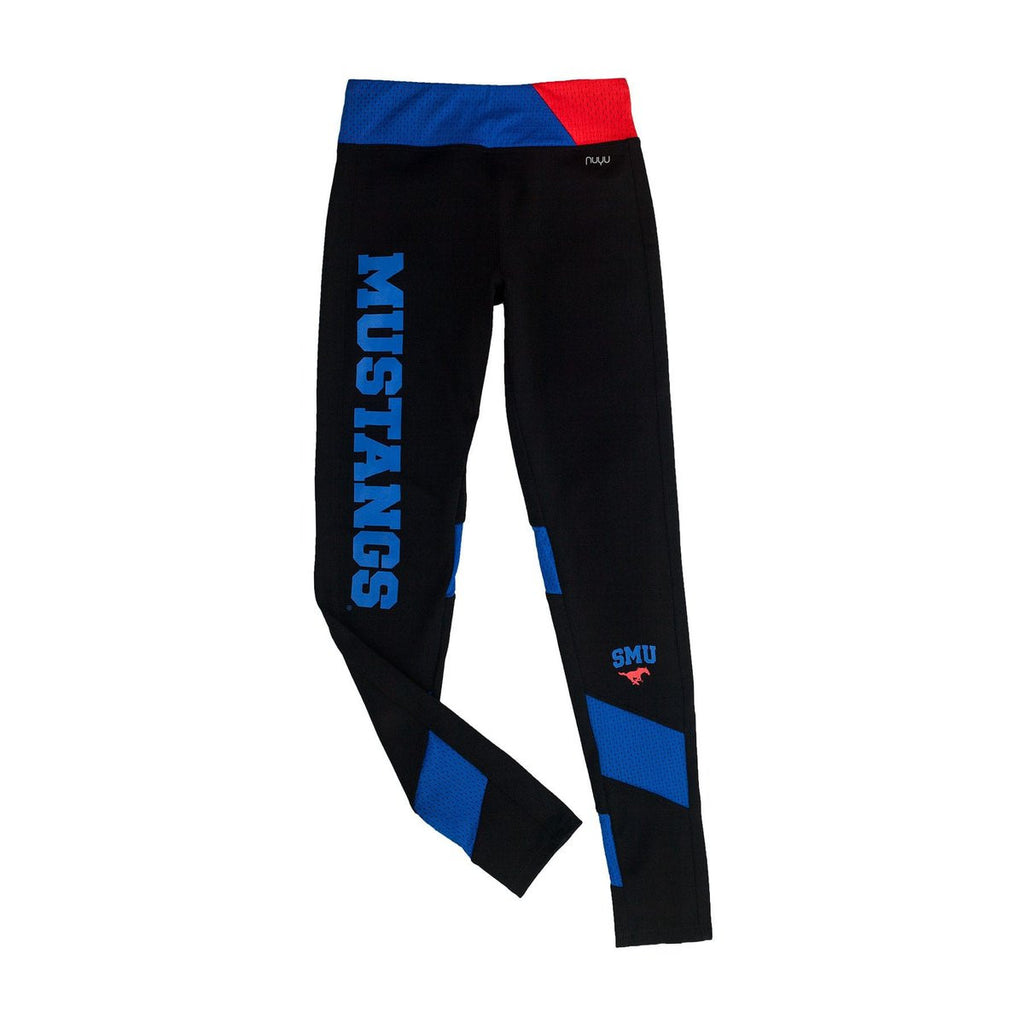 Southern Methodist University SMU Yoga Leggings with Mesh