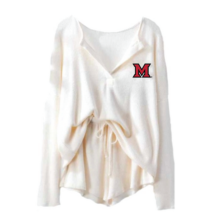 Miami University Knit Set