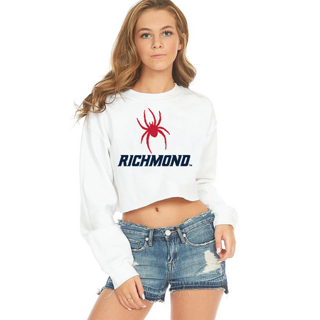 Richmond Spiders Cropped Crewneck
