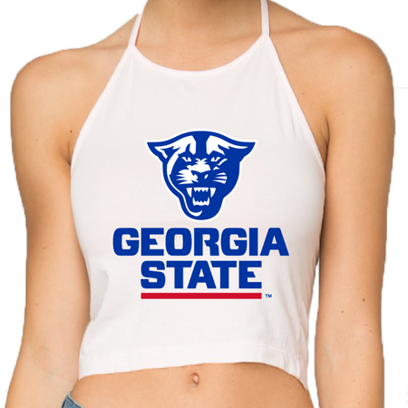 Georgia State Halter Top