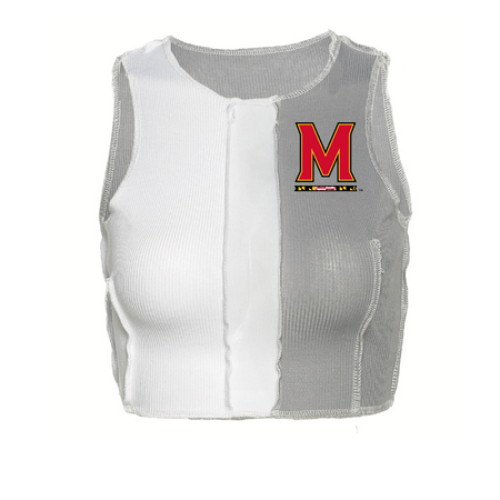 Maryland Terps Color Block Tank Top