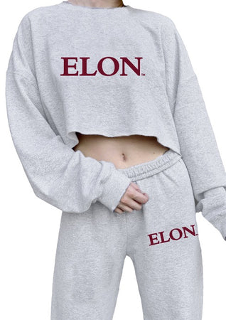 Elon Embroidered Crewneck