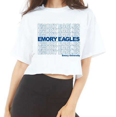 Emory Have A Nice Day Cropped Tee