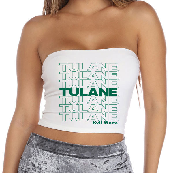 Tulane Have A Nice Day Tube Top