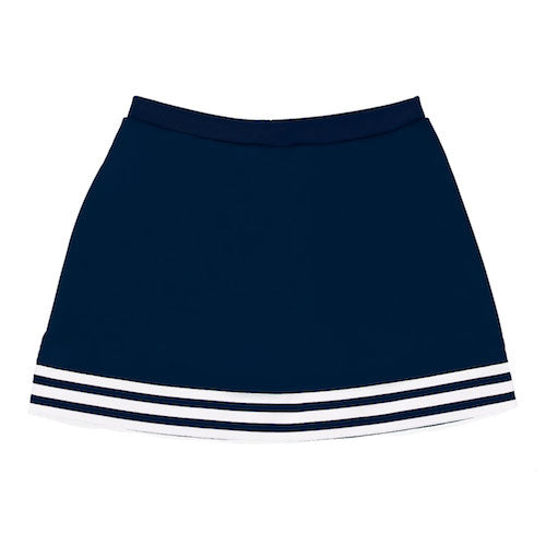 Navy A-Line Tailgate Skirt