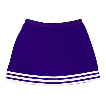 Purple A-Line Tailgate Skirt