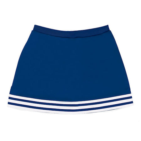 Royal Blue A-Line Tailgate Skirt