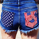 USA Denim Shorts