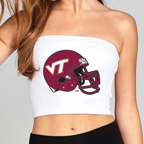 Virginia Tech Helmet Tube Top