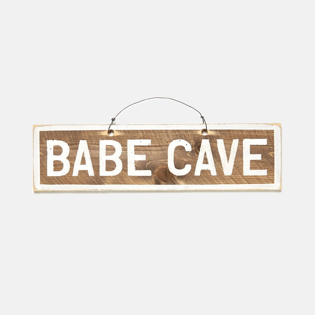 Babe Cave Wooden Sign - lo + jo, LLC