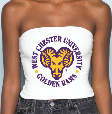 West Chester University Tube Top