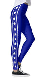 Blue Starbright Leggings - lo + jo, LLC