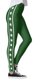Green Starbright Leggings