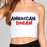 American Dream Tube Top