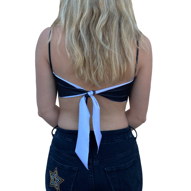 UCF Knights Gothic Bandana Top