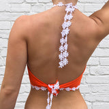 Virginia Tech Daisy Halter