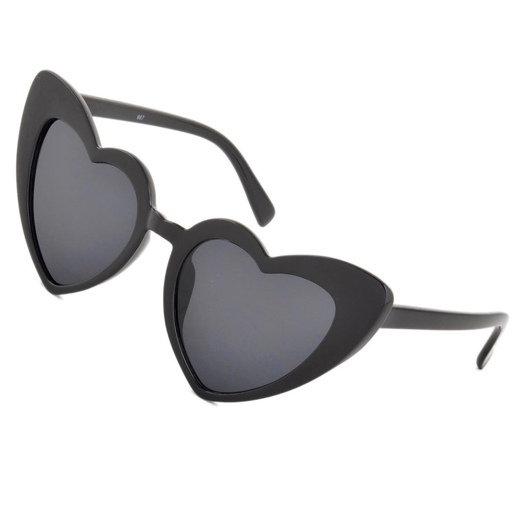 Black Heart Sunglasses - lo + jo, LLC