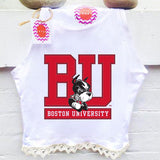 Boston University Crochet Tank - lo + jo, LLC
