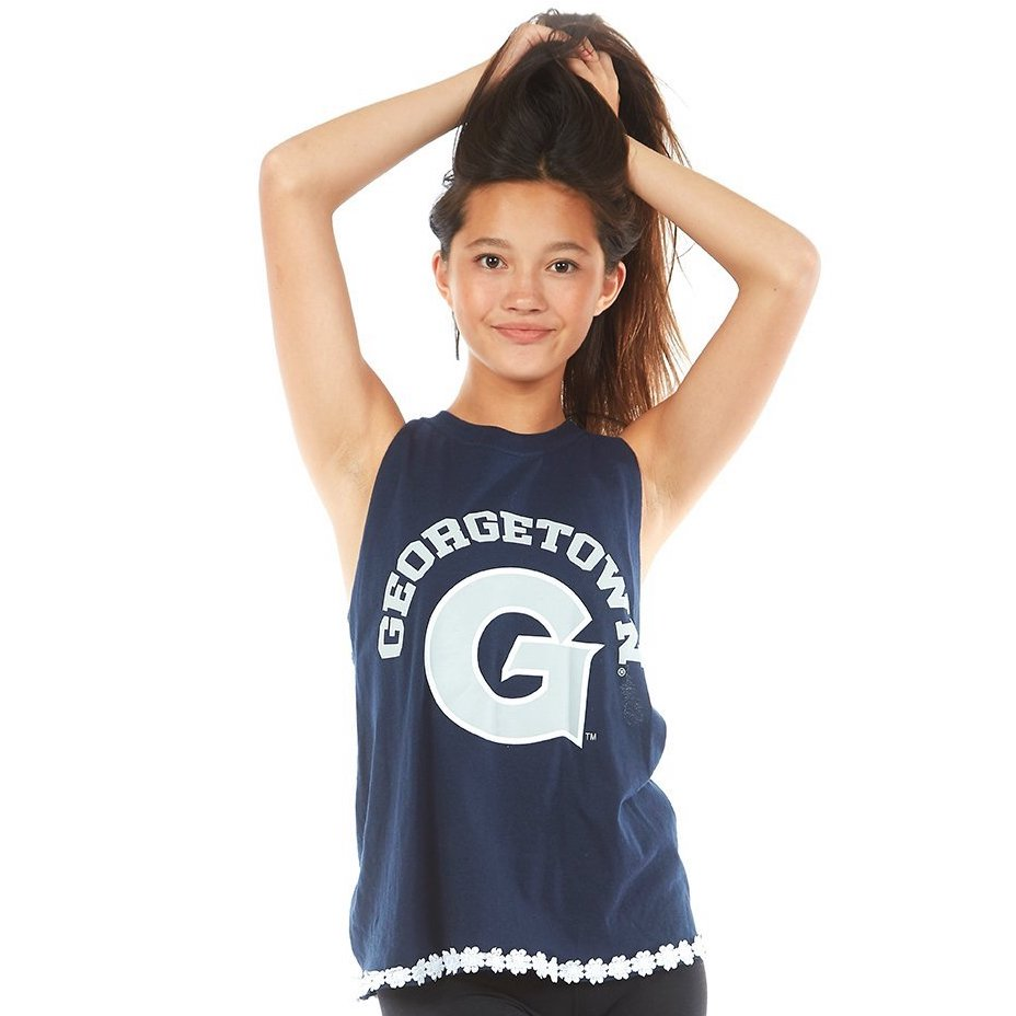 Georgetown University Braided Back Tank