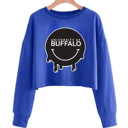 Buffalo Bulls Smile Cropped Crewneck