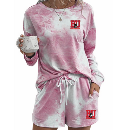 Boston University Pink Tie Dye Outfit