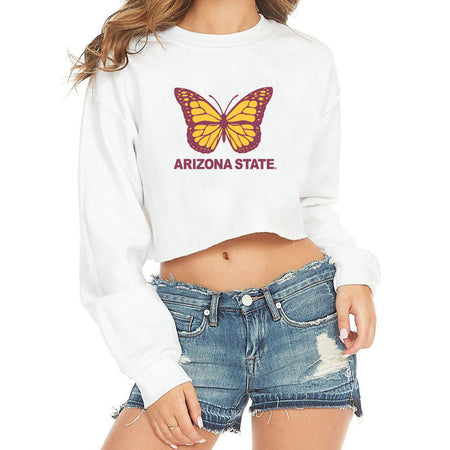 Arizona State ASU Butterfly Crewneck