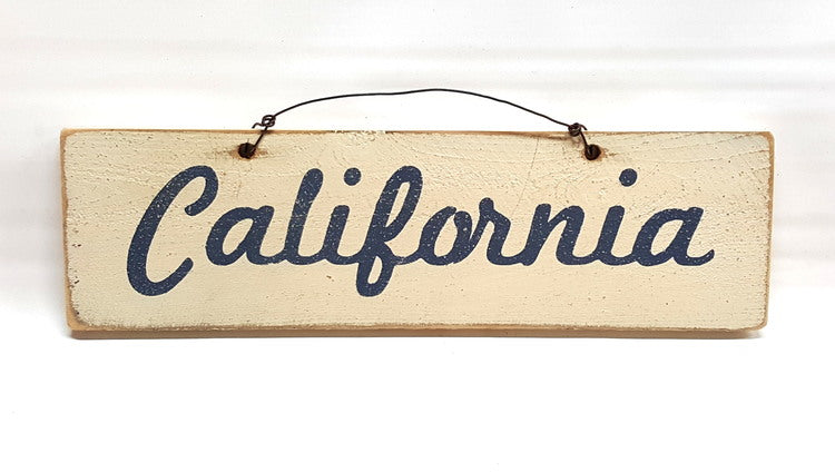 California Wooden Sign - lo + jo, LLC