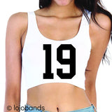 Class of 2019 Scoop Neck Crop Top - lo + jo, LLC