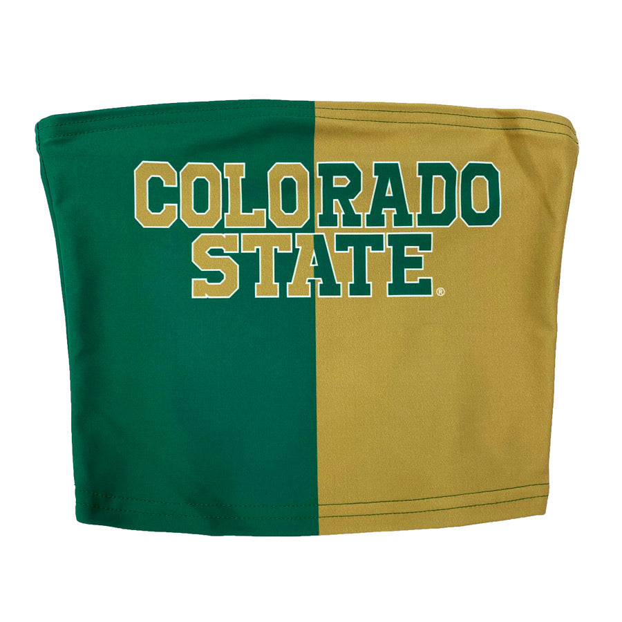 Colorado State Two Tone Tube Top