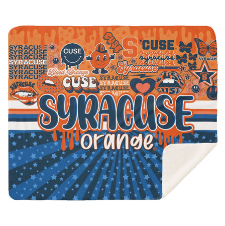 Syracuse Navy Bandana Top